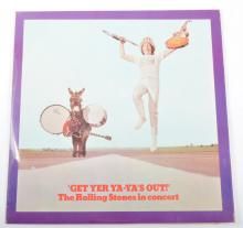 An autographed vinyl record - The Rolling Stones ''Get Yer Ya Ya's Out'' 19