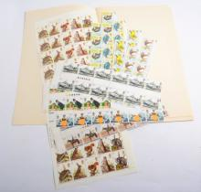 Stamps: a large quantity of decimal and pre-decimal sheets and uncirculated