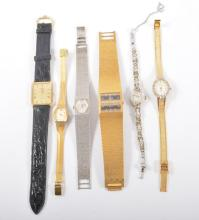 A collection of wrist watches, gentleman's Raymond Weil, Limit, lady's Accu