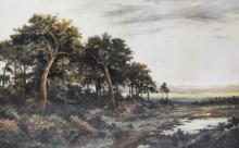 After R Percy, landscape, photograveur, 50 x 78cm.