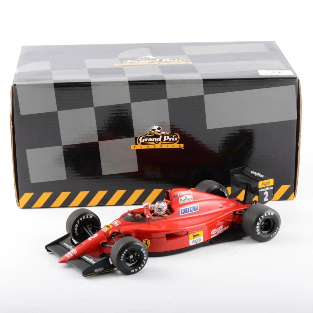 Exoto 1:18 scale diecast model Ferrari 641/2, from the Grand