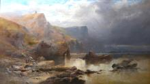 William Widgery, oil