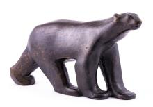 After Francois Pompon, a patinated bronze sculpture of a Polar Bear, late 2