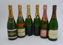 Assorted Champagnes, including: Perrier-Jouet Brut, Grand Brut (1 bottle);