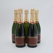 Paul Gobillard, 1989 vintage champagne (5 bottles)