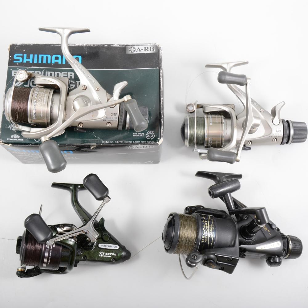 7de37bd5527 Fishing reels - Daiwa Regal-X 4050 BRT, two Shimano Baitrunner Aero GTE 500
