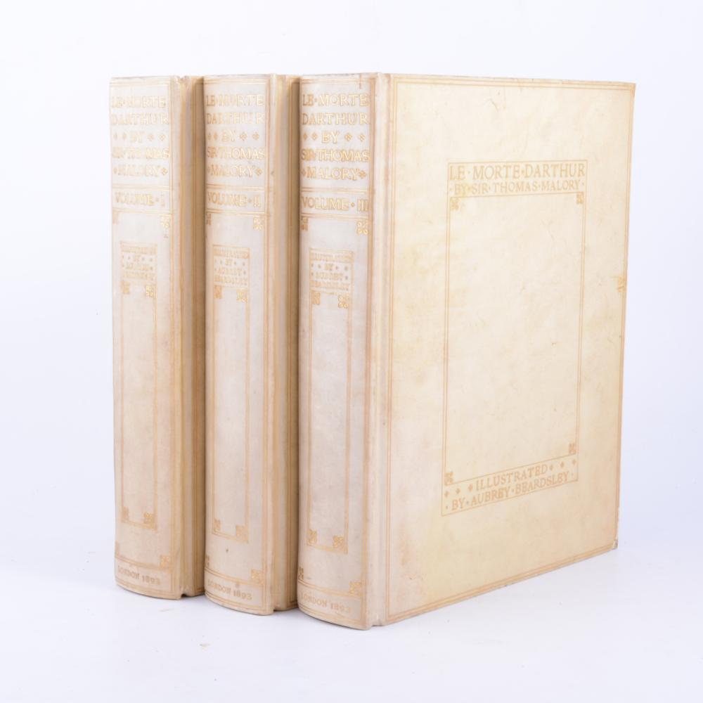 Satisfaction Of Morte Form | Sir Thomas Malory Le Morte D Arthur Large Paper Edition I
