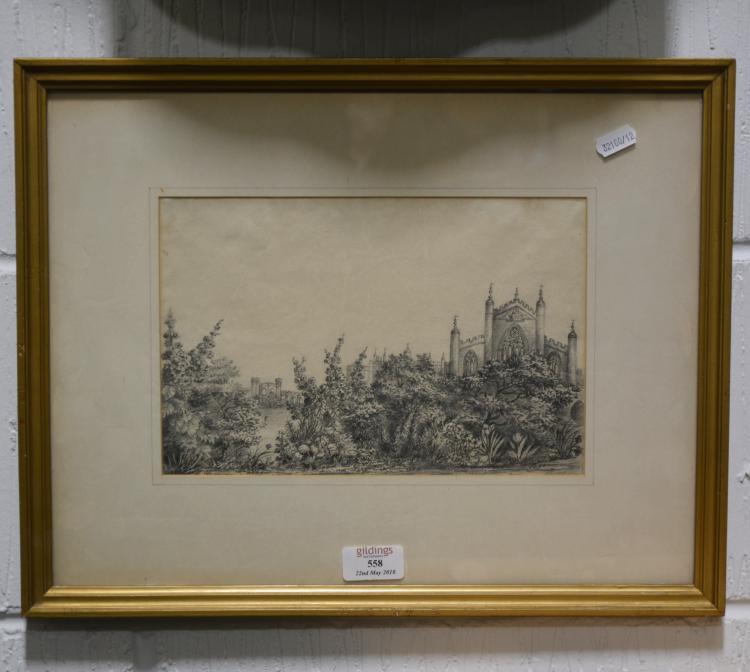 Thomas Rowlandson, Hammatothy Mill, pencil sketch, 17cm x 25cm, Thomas Agne
