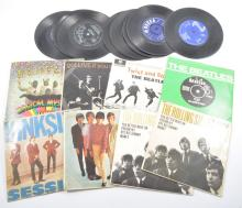Vinyl records; singles 1960s and 1970s, including The Beatles Magical Myste