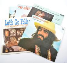 Vinyl Records; large mixed quantity of LPs to include Rock 'n' Roll, Countr