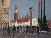 Peter van Breda, San Marco towards San Giorgio Maggiore, Venice