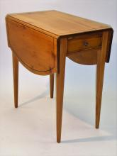 Charming Maryland Pine Pembroke Table 1940s