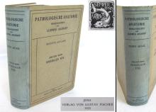 1923 antique German medical textbook pathological anatomy by L.Aschoff