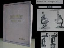1917 antique medical catalog Gustav Muller Rare
