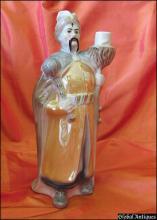 1914-1925 Imperial Russia Soviet prohibition era porcelain alcohol decanter Rare