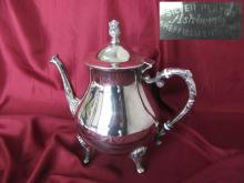 Vintage British silver plated serving coffee teapot tea kettle