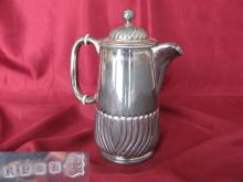 Antique British silver plated serving coffee / tea teapot