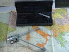 Antique planimeter instrument with original case Reiss
