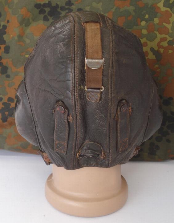 f2f175832c7 WW2 original German Luftwaffe LKP W101 winter flight helmet marked