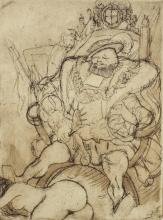Vertes, Marcel Erotic Etching, No. 2