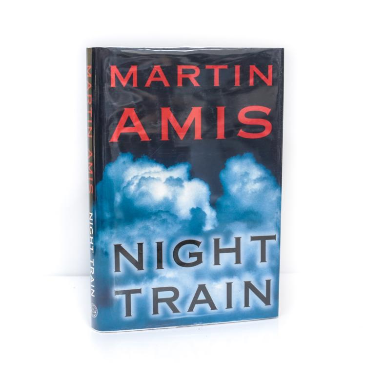 Amis, Martin Night Train 1st Ed Signed w/ DJ 1997
