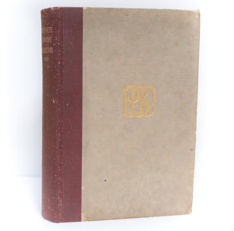Weston, Bertine Holden's Private Book Collectors of US