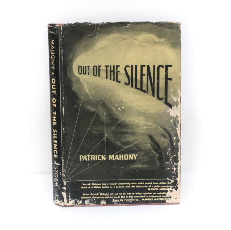 Mahony, Patrick Out of Silence 1st Ed Signed w/ DJ 1948