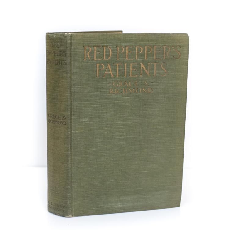 Richmond, Grace Red Pepper's Patients 1st Ed Signed 1917