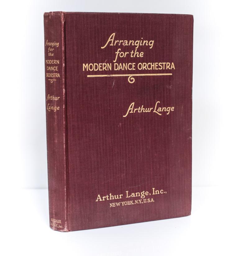 Lange, Arthur Arranging  Modern Dance Orchestra 1st Ed