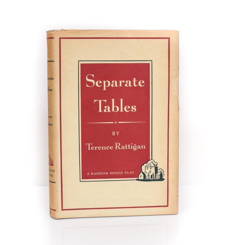 Rattigan, Terence Separate Tables 1st Ed w/ DJ 1955