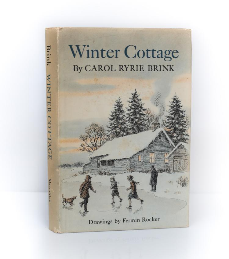 Brink, Carol Winter Cottage 1st Ed Signed w DJ 1968