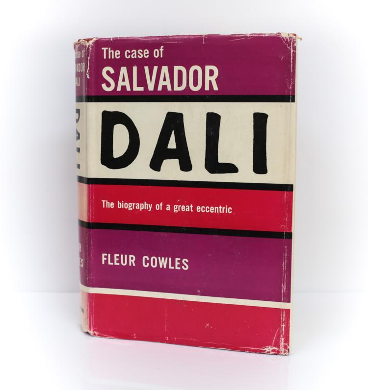 Cowles, Fleur The Case Salvador Dali 1st Ed Signed DJ