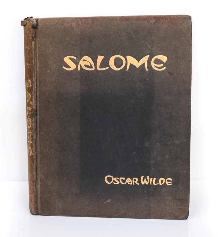 Wilde, Oscar; Vassos John Salome 1st Ed 1927 E.P Dutton