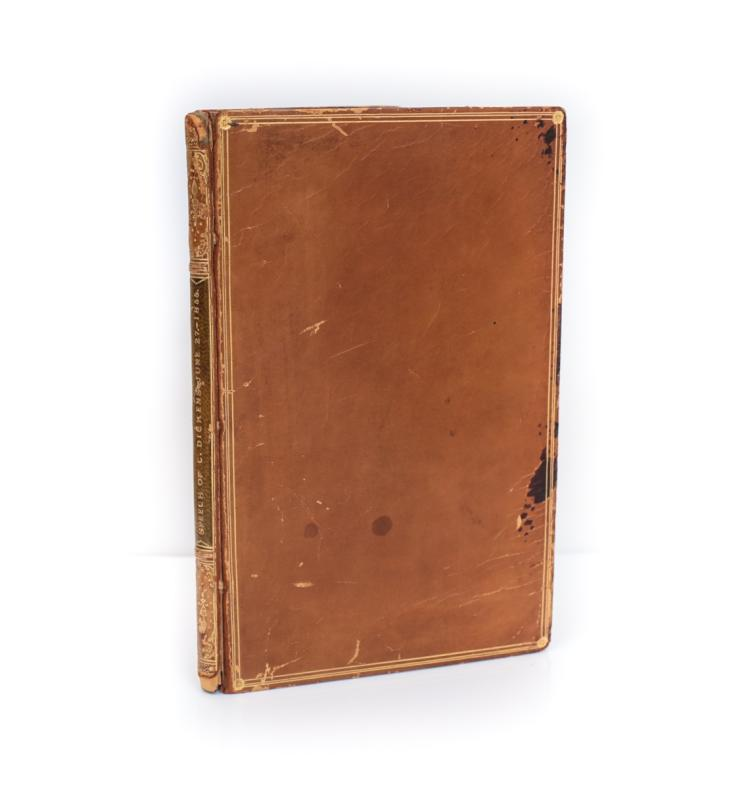 Dickens, Charles Speech of Charles Dickens 1st Ed 1855