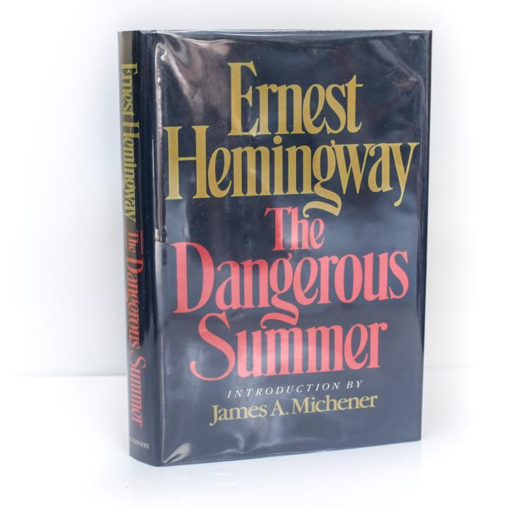 Hemingway, Ernest The Dangerous Summer 1st Ed Scribners