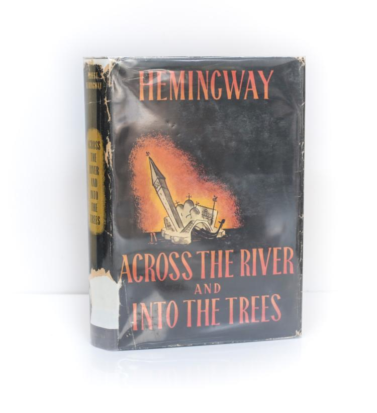 Hemingway, Ernest Across the River into Trees 1st Ed DJ