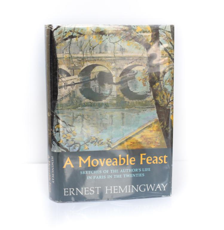 Hemingway, Ernest A Moveable Feast 1st Ed w DJ 1964