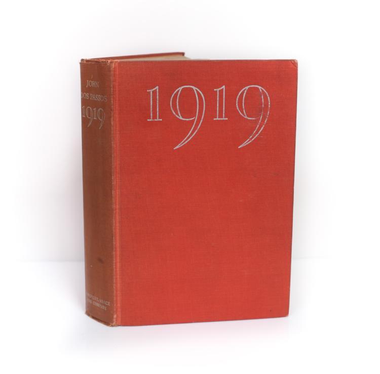 Dos Passos, John 1919 1st Ed Harcourt Brace & Co 1932
