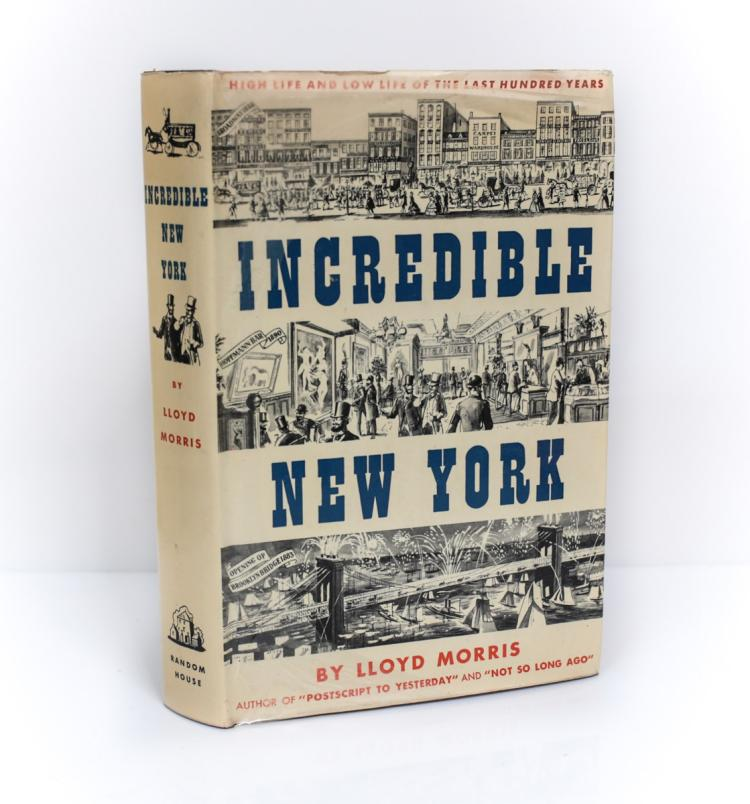 Morris, Lloyd Incredible New York 1st Ed Signed w DJ