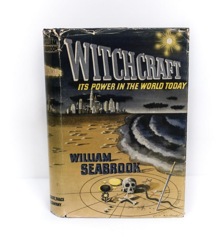 Seabrook, William Witchcraft: Its Power 1st Ed w DJ
