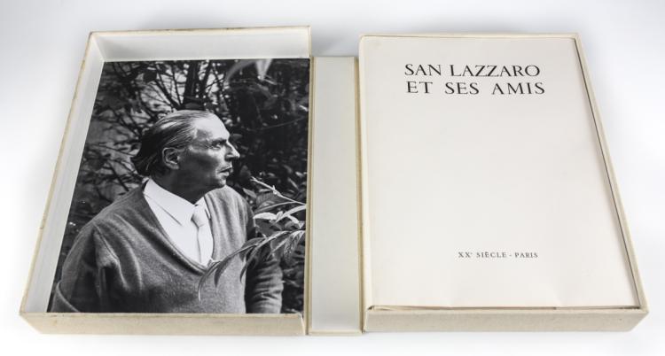 San Lazzaro Et Ses Amis' Portfolio XX Siecle 1975