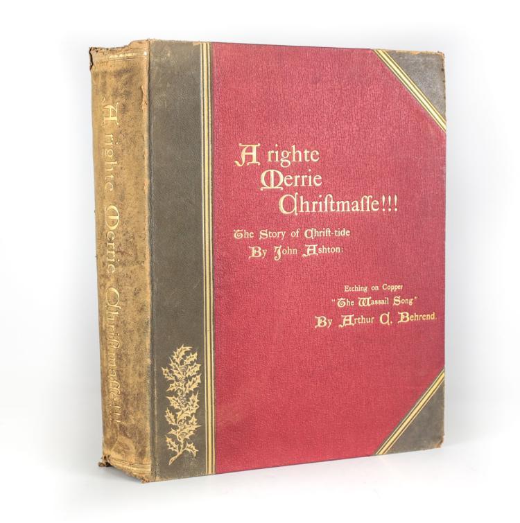 Ashton, John A Righte Merrie Chriftmaffe!! 1890s
