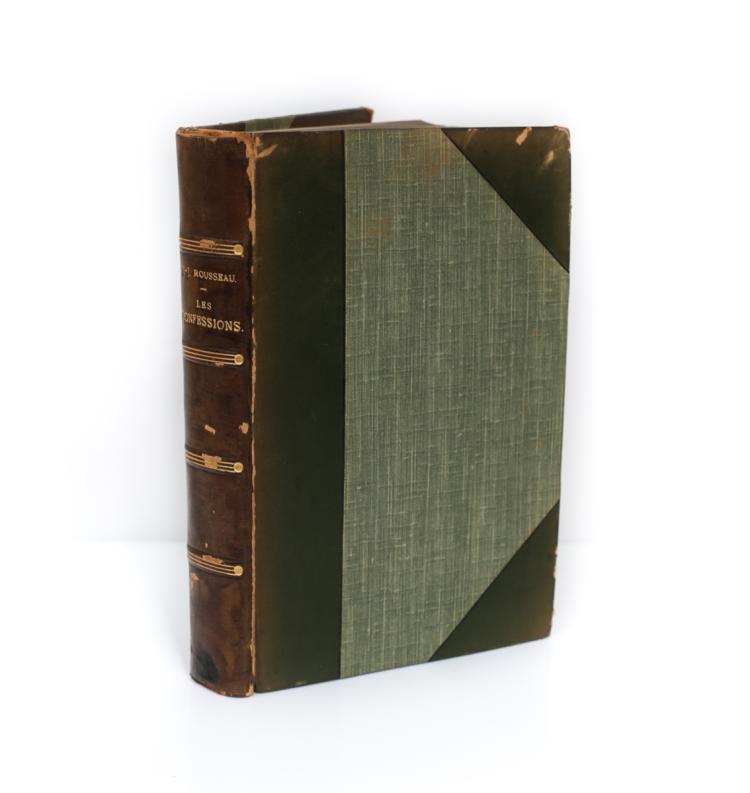 J.J. Rousseau, Les Confessions Book 1844
