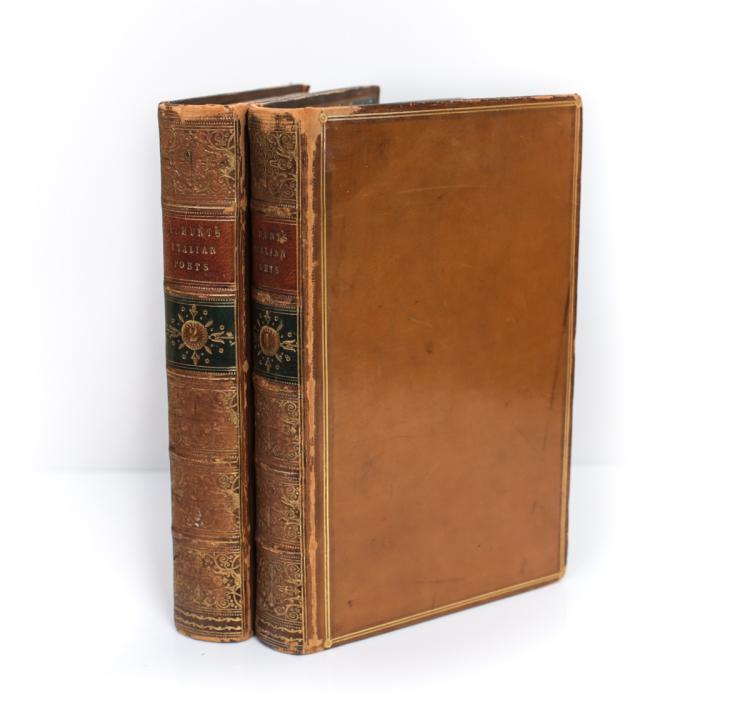 Hunt, Leigh Stories From Italian Poets 1st Ed 2 Vols
