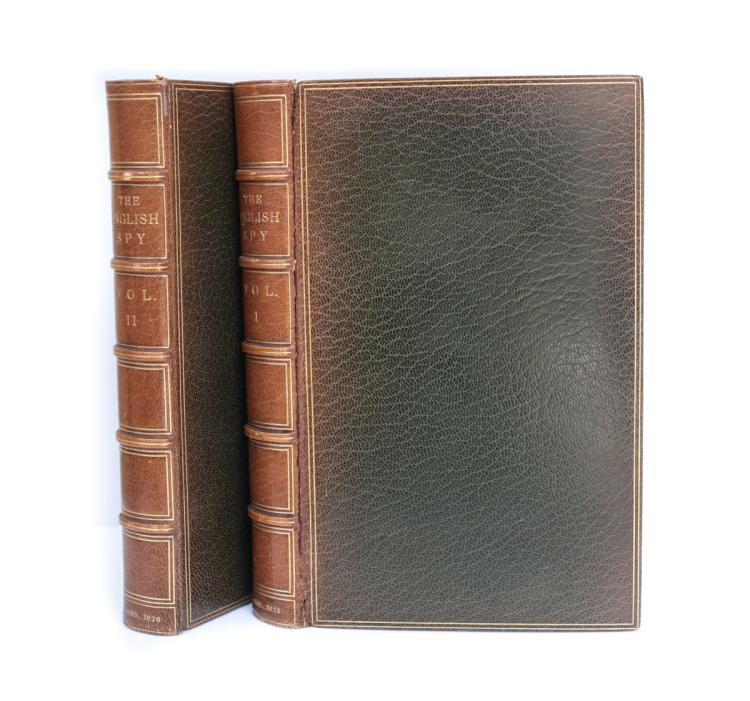 Westmacott, Charles; Cruikhank, Robert The English Spy