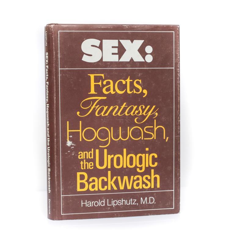 Lipshutz, Harold Sex: Facts, Fantasy Signed w DJ
