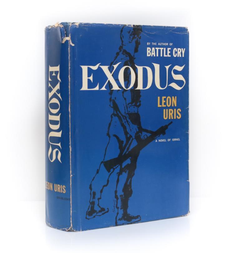 Uris, Leon Exodus 1st Ed w/ DJ Double Day 1958