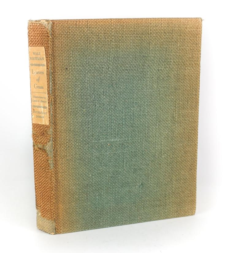 Whitman, Walt; Daniel, Lewis Leaves of Grass 1940