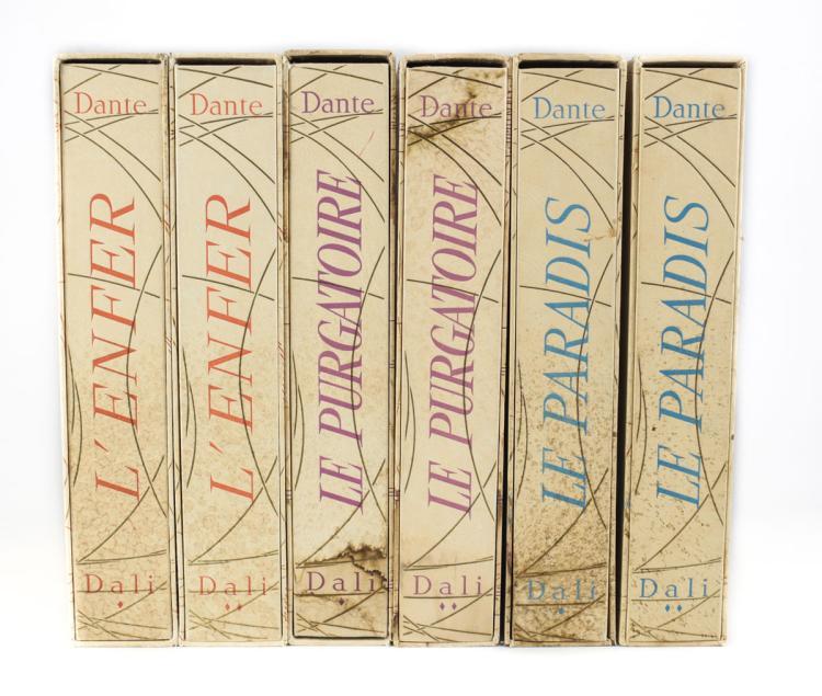 Dante; Dali, Salvador La Divine Comedie 6 Vols 1959-1963
