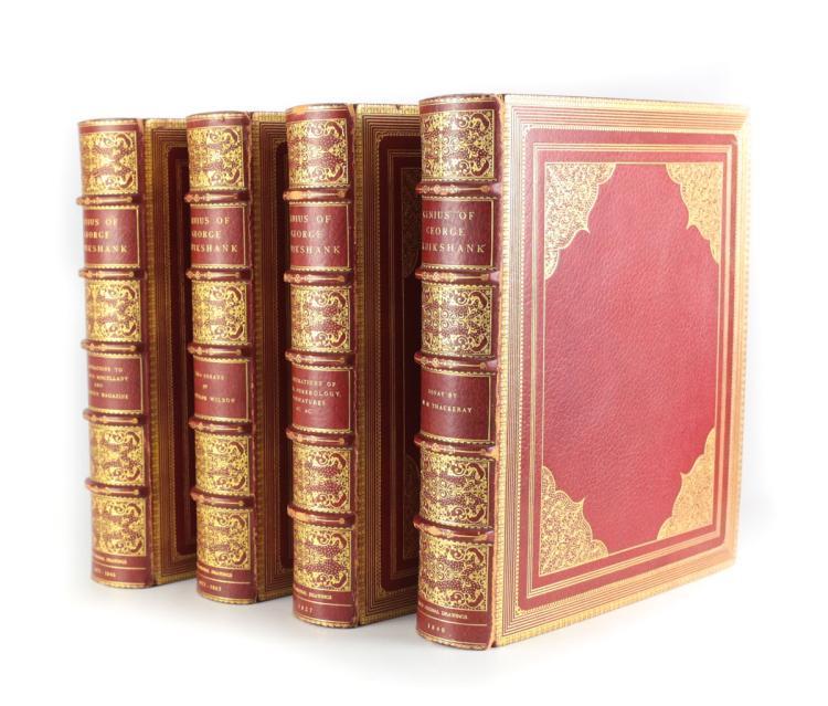 The Genius of George Cruikshank 4 Vols